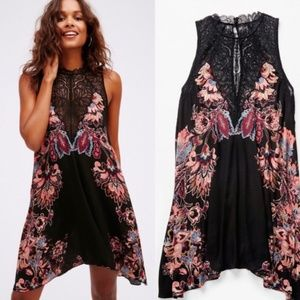 Free People Marsha Lace Slip Dress in XL!